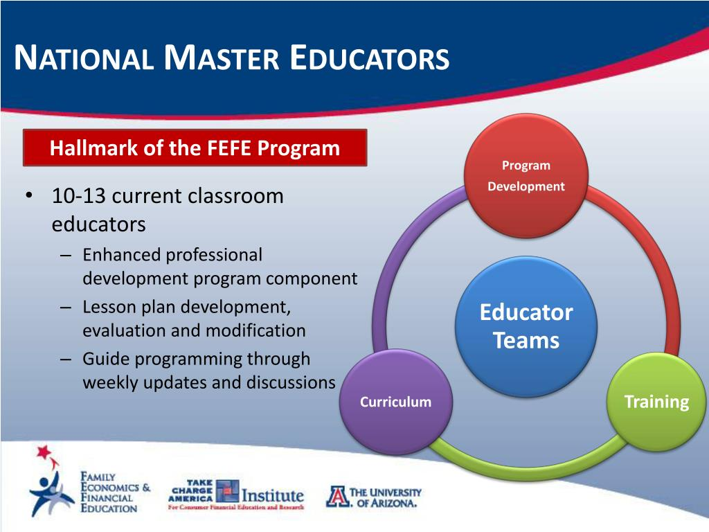 National Master Educators