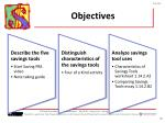 objectives27