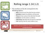 rolling jenga 1 14 1 j123