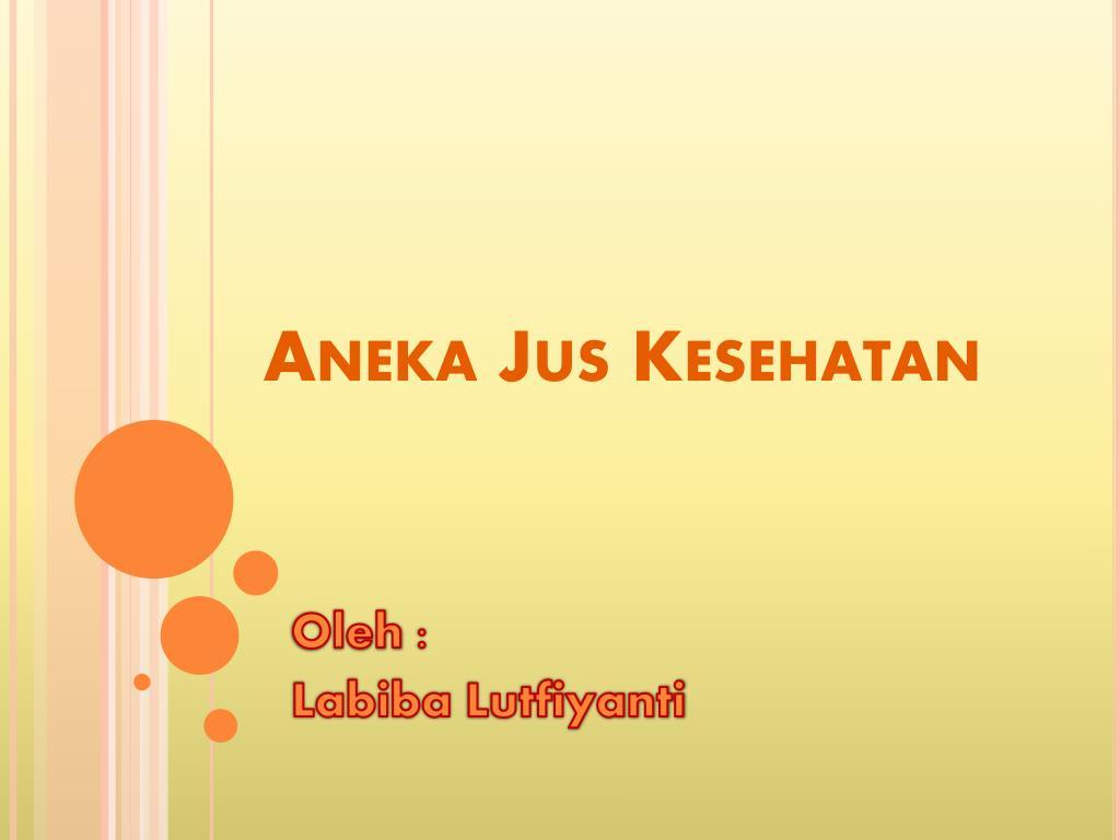 Aneka Jus