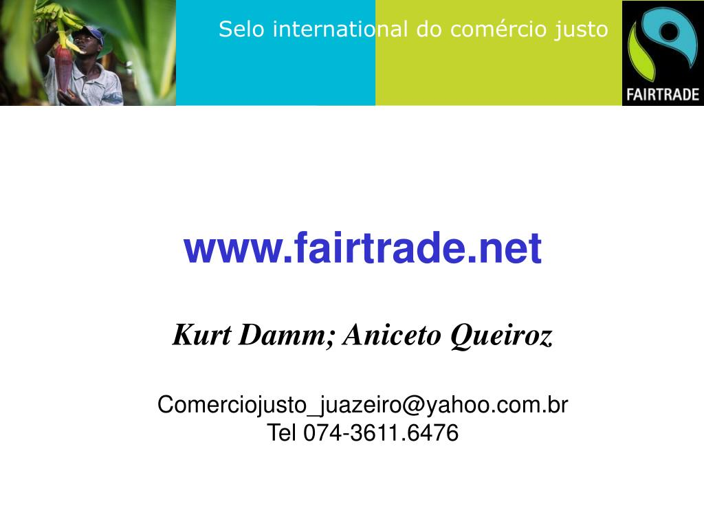 www.fairtrade.net