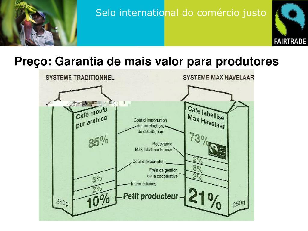 Preço: Garantia de mais valor para produtores