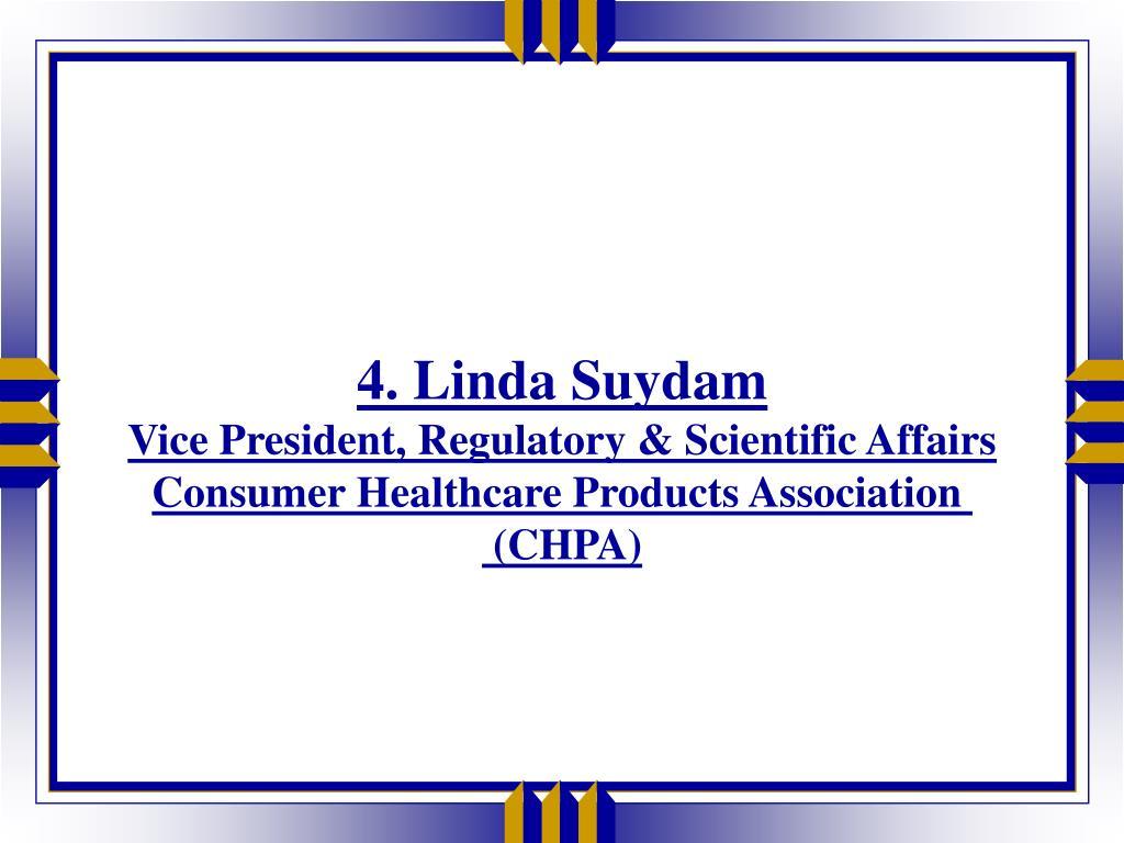 4. Linda Suydam