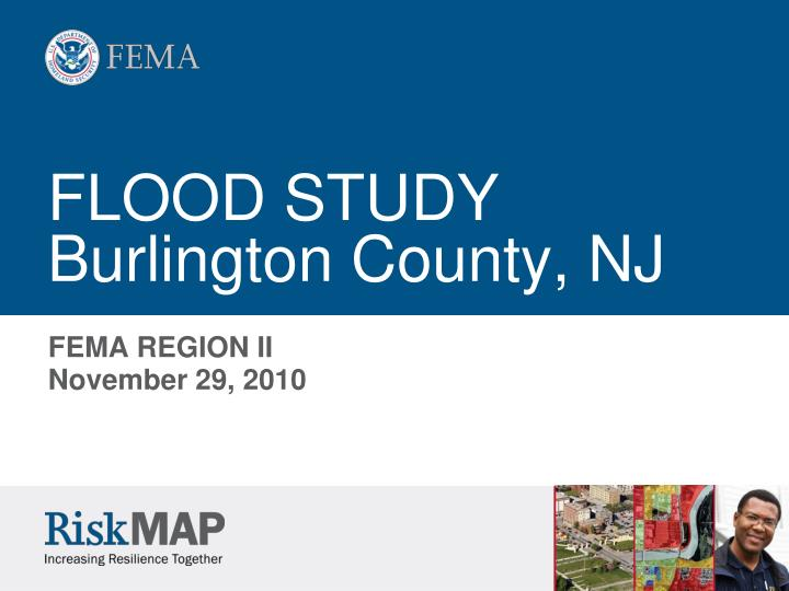 Flood study burlington county nj