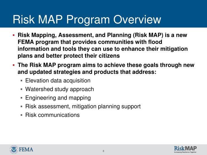 Risk MAP Program Overview