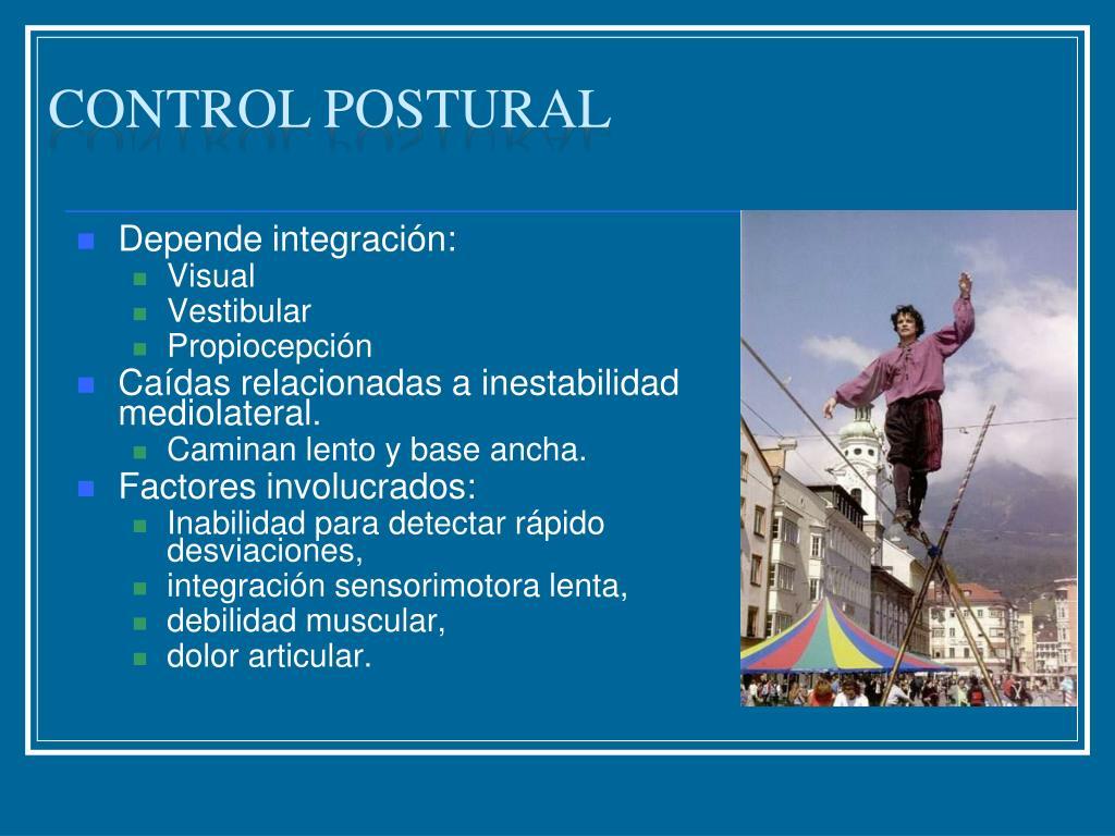 Control postural