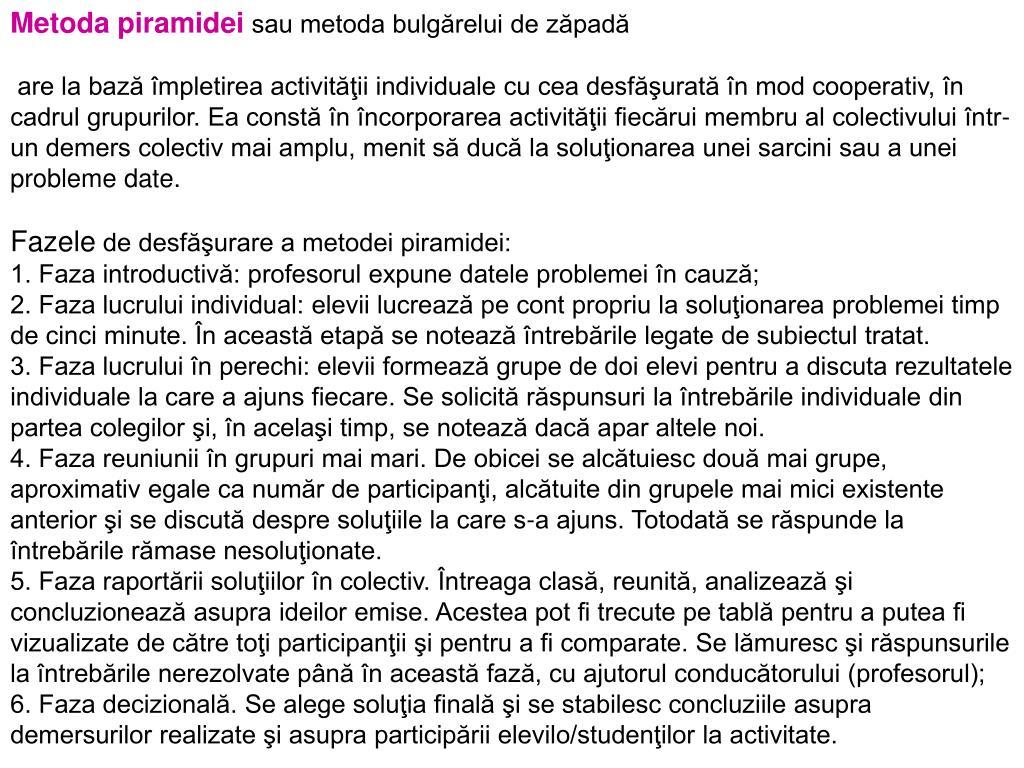 Metoda piramidei