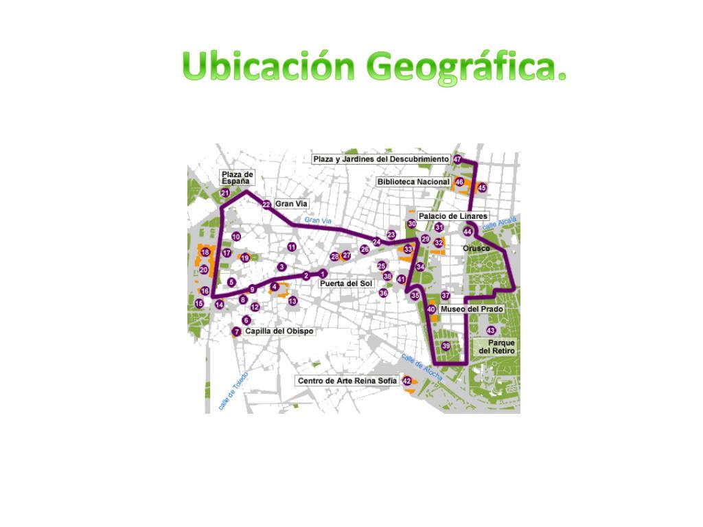 Ubicación Geográfica.