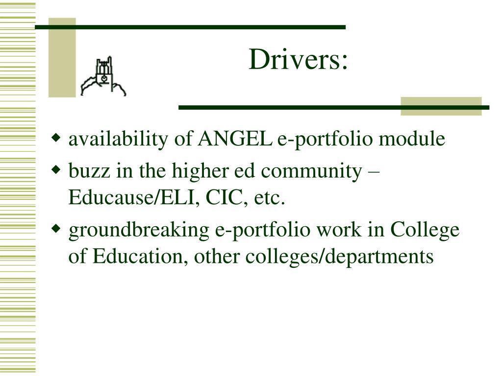 Drivers:
