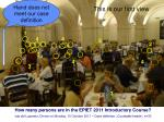 how many persons are in the epiet 2011 introductory course36