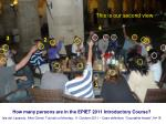 how many persons are in the epiet 2011 introductory course37