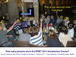 how many persons are in the epiet 2011 introductory course40