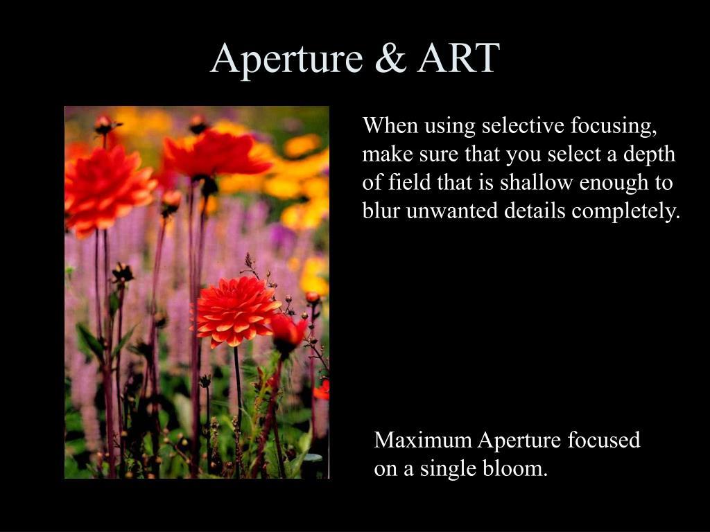 Aperture & ART