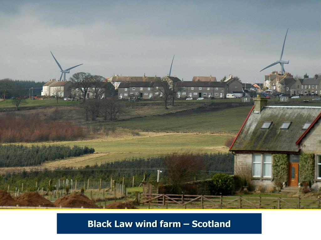 Black Law wind farm – Scotland