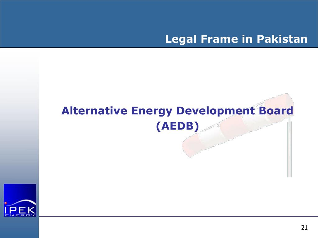 Legal Frame in Pakistan