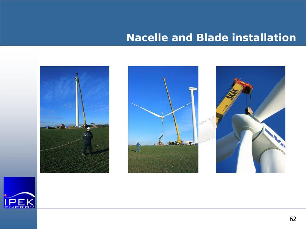 Nacelle and Blade installation
