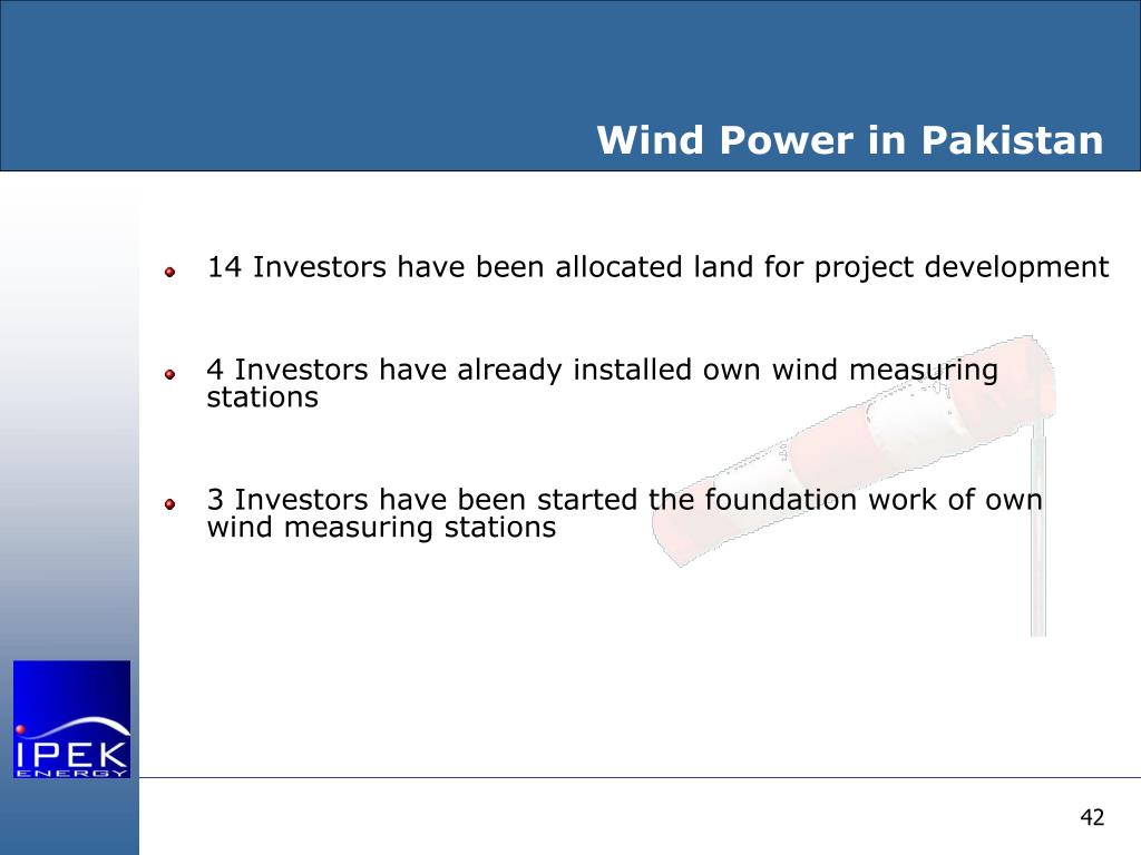 Wind Power in Pakistan