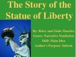 the story of the statue of liberty