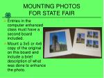 mounting photos for state fair11