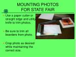 mounting photos for state fair3
