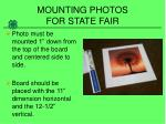 mounting photos for state fair4