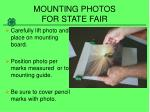 mounting photos for state fair7