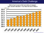 america s debt challenge