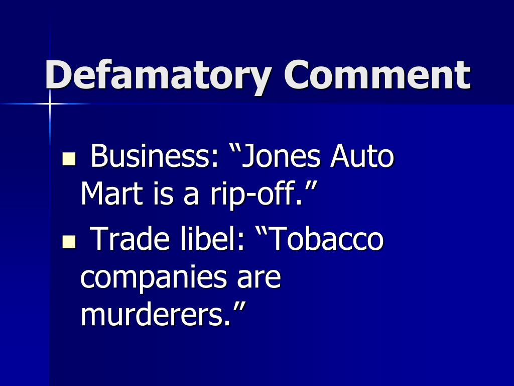 "Business: ""Jones Auto Mart is a rip-off."""