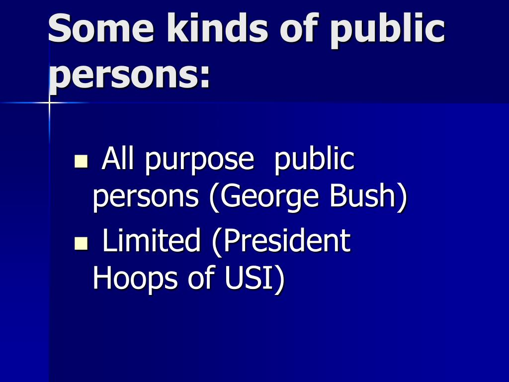 All purpose  public persons (George Bush)