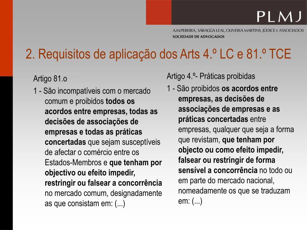 Artigo 4.º- Práticas proibidas