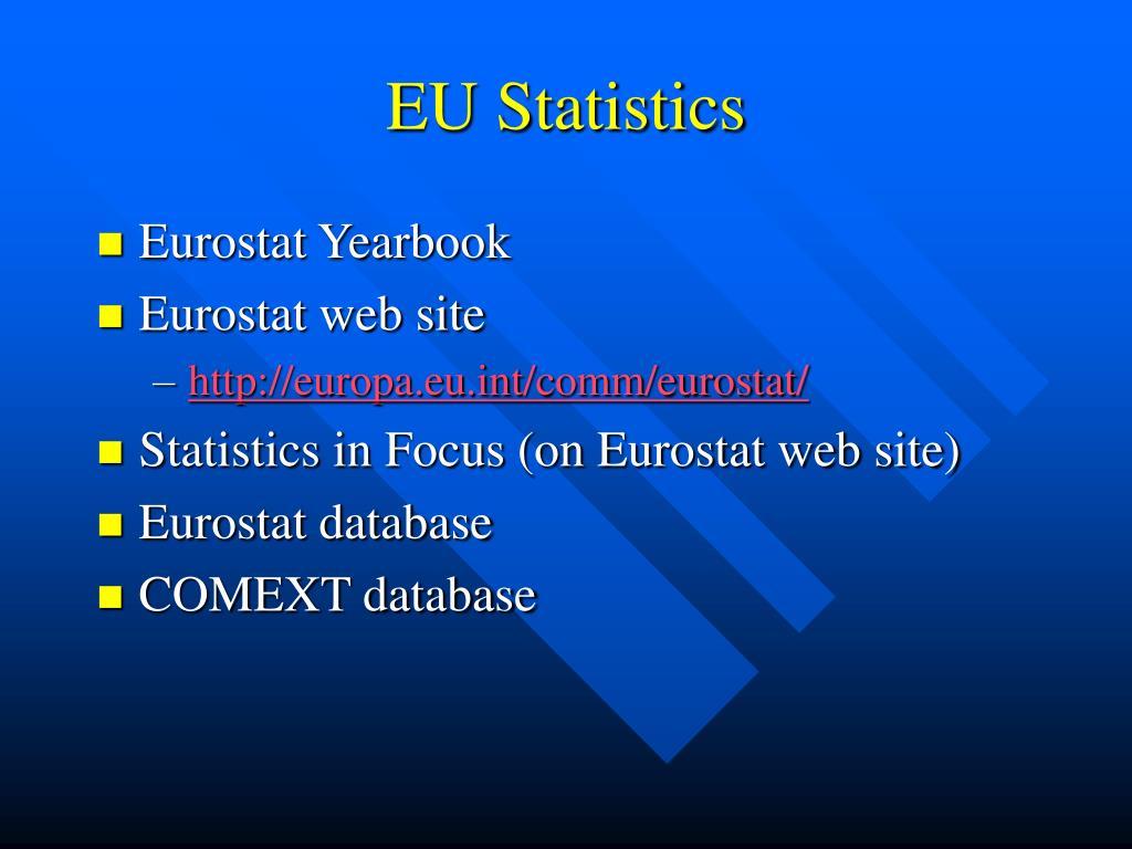 EU Statistics