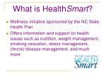 what is health smart