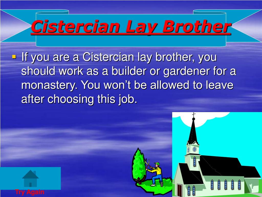 Cistercian Lay Brother