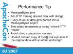 performance tip23