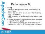 performance tip35