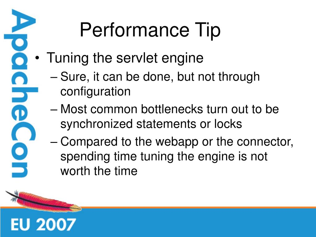 Performance Tip