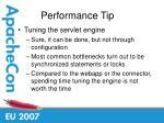 performance tip36