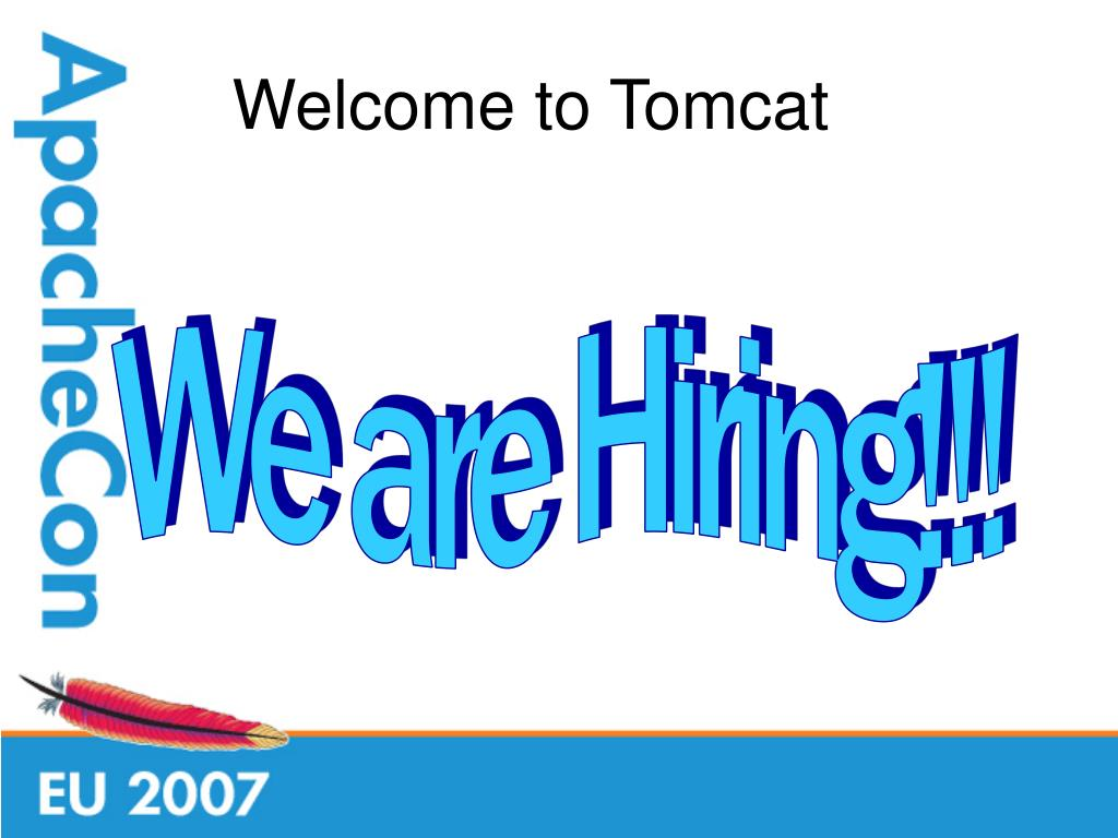 Welcome to Tomcat