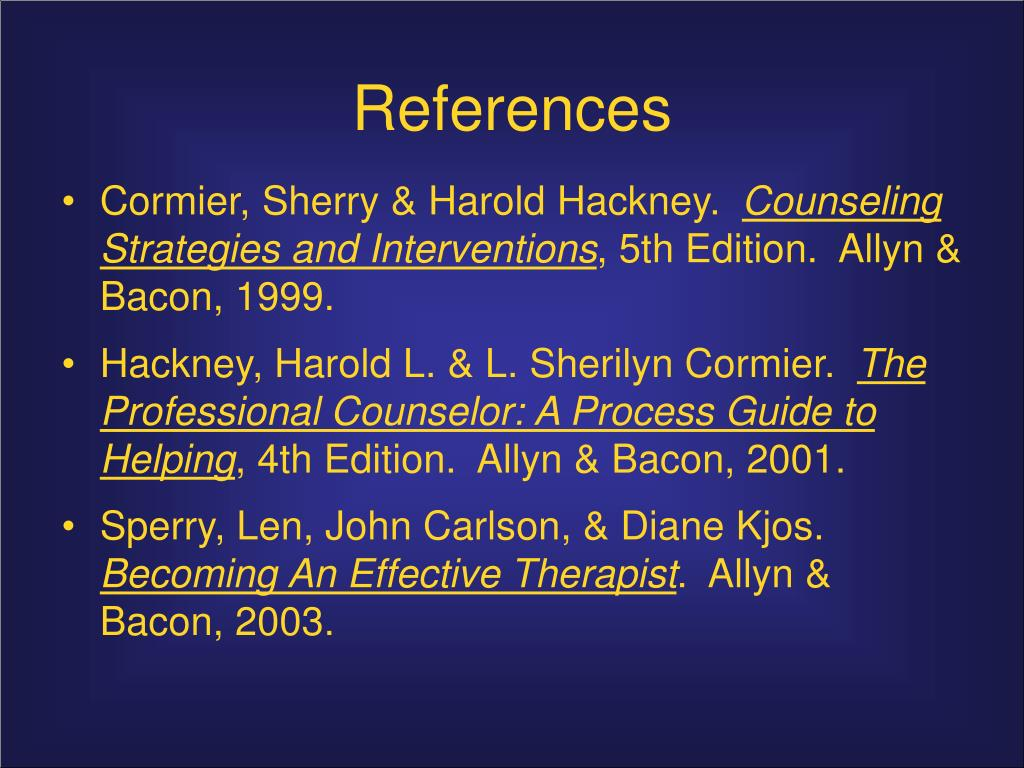 ppt stages and skills of counseling powerpoint