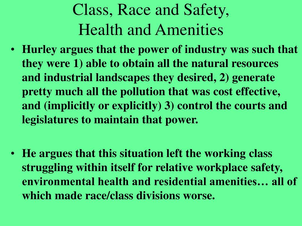 essay on environmental inequalities by andrew hurley Environmental inequalities andrew hurley published by the university of north carolina press hurley, andrew environmental inequalities: class, race, and industrial pollution in gary, indiana, 1945-1980.