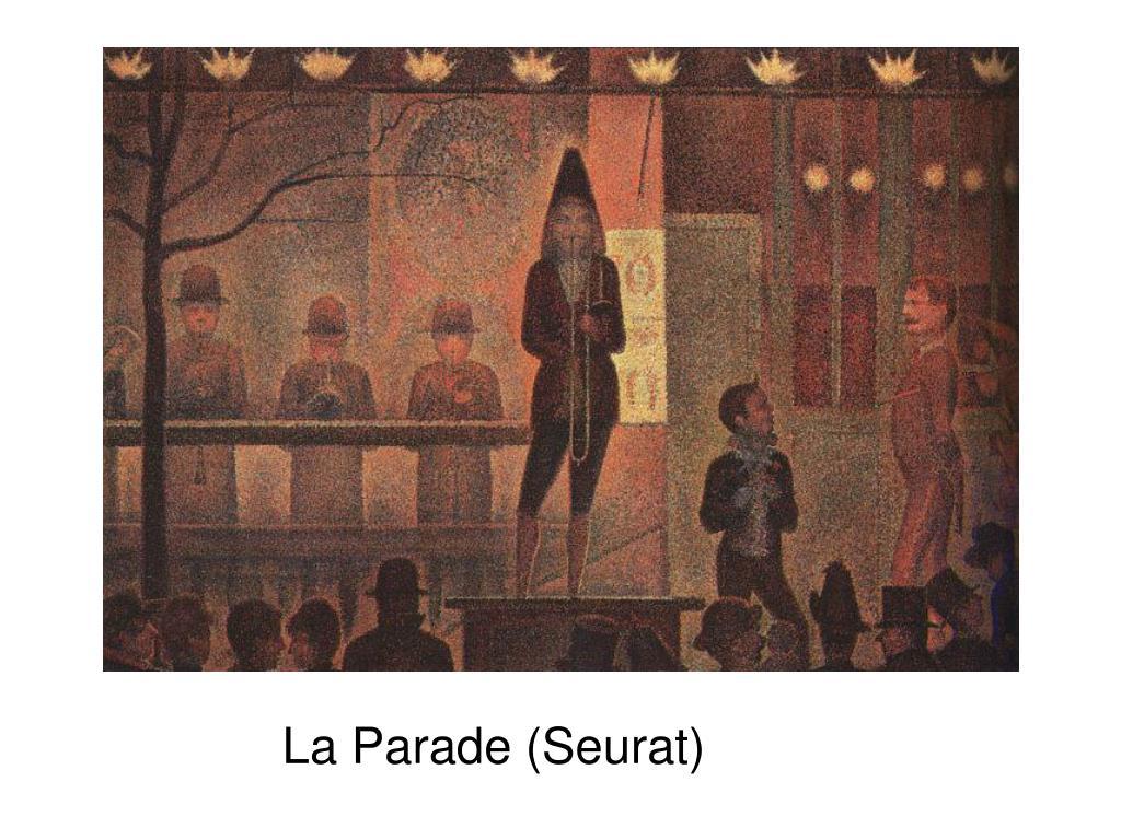 La Parade (Seurat)
