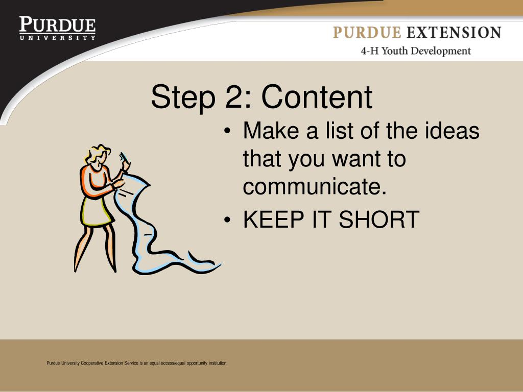 PPT - How to Make a Great 4-H Poster PowerPoint ...