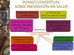 plano conceptual sobre prevenci n en salud