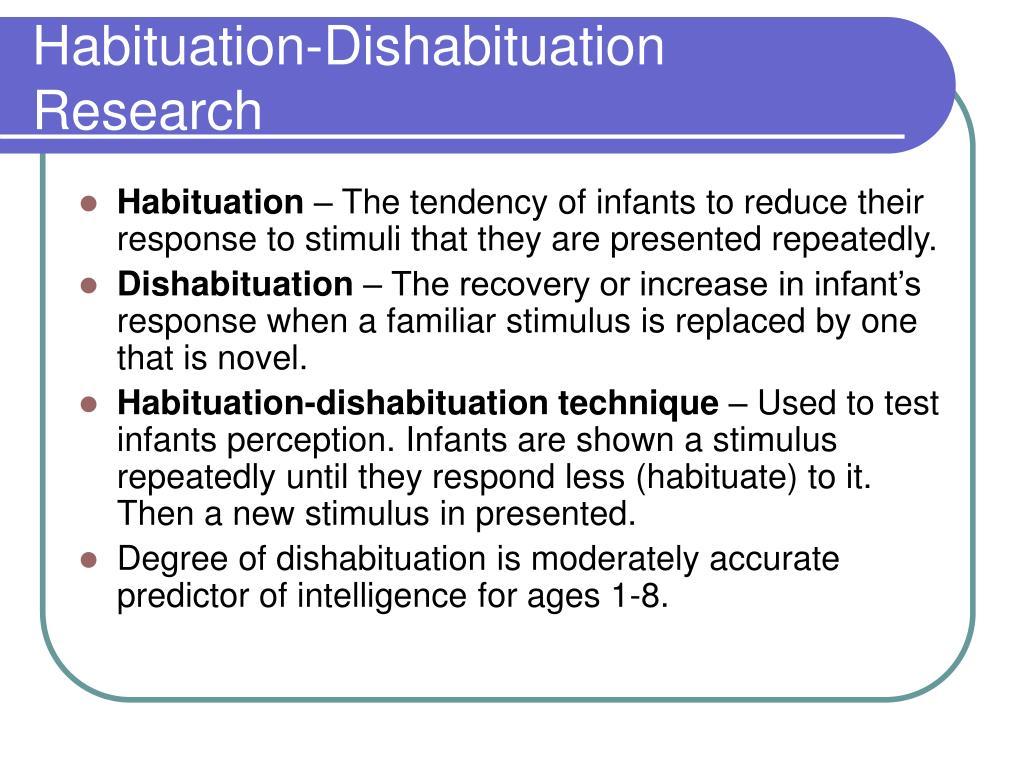 Habituation-Dishabituation Research