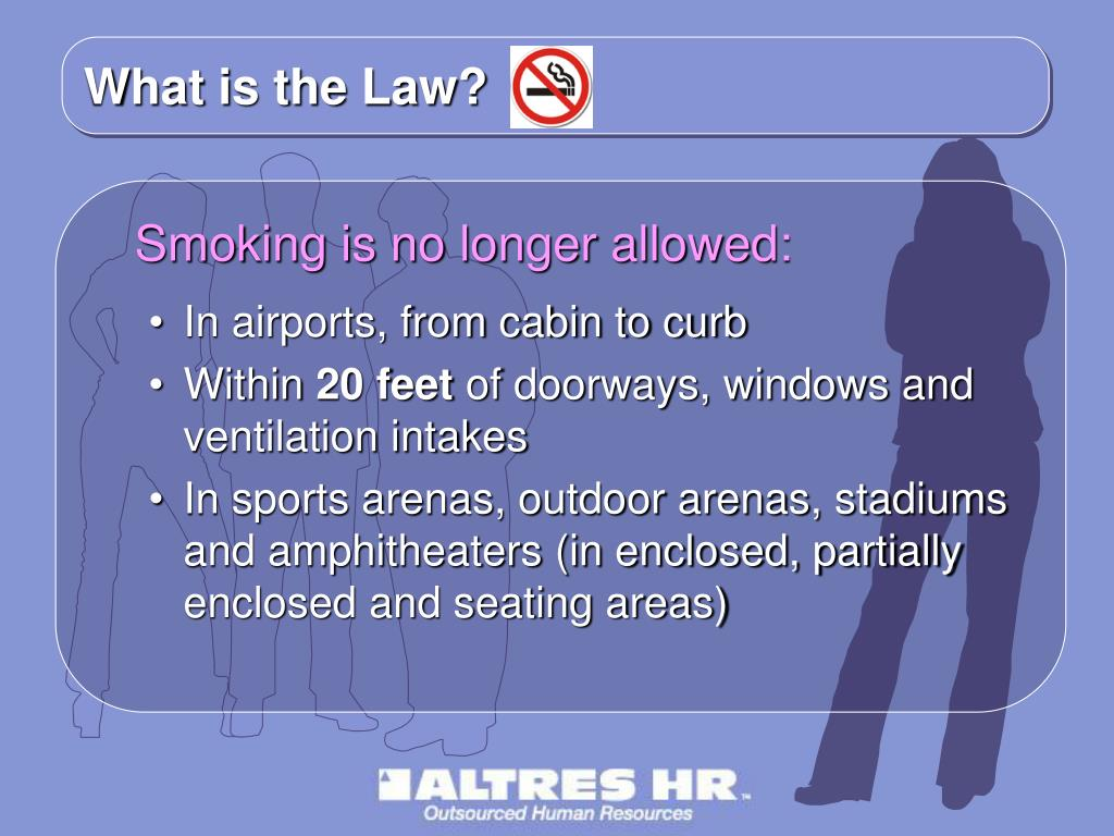 What is the Law?