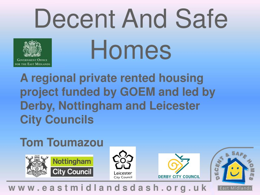 Decent And Safe Homes