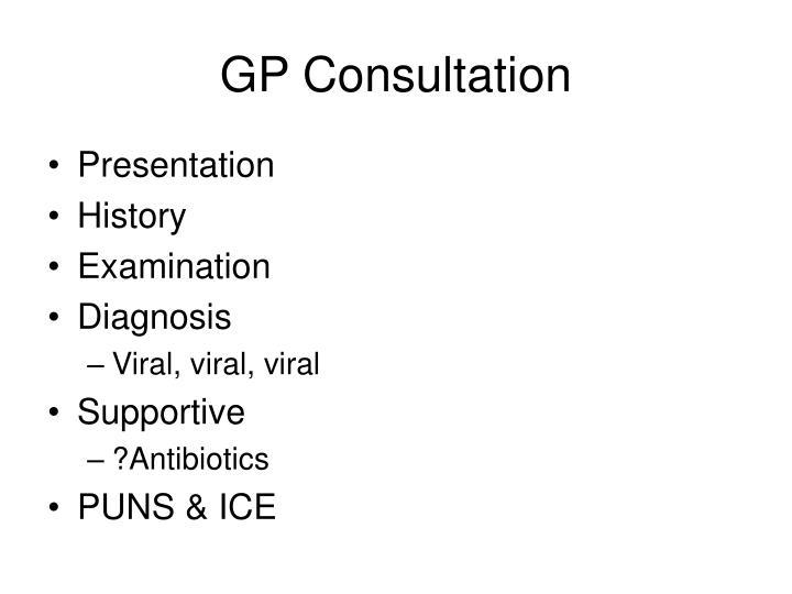GP Consultation