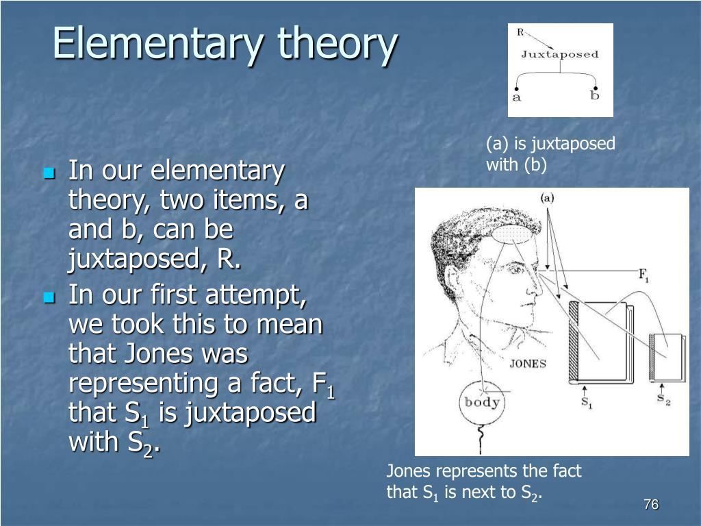 Elementary theory