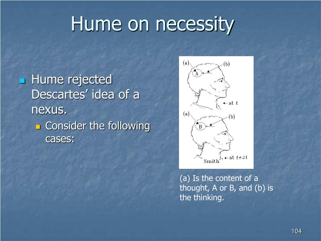 Hume on necessity