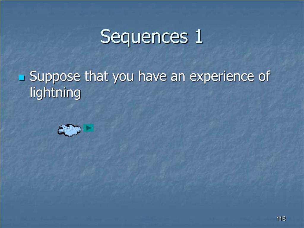Sequences 1